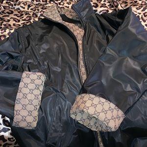 Gucci Logo Reversible Jacket L